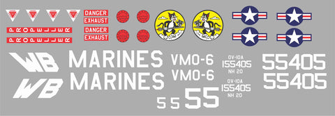 OV-10 Bronco BuNo 155405 Graphics Set