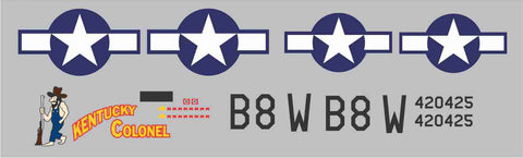 P-47 Kentucky Colonel Graphics Set