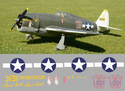 P-47 Miss Mutt/Pride of Lodi Ohio Graphics Set