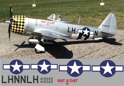 P-47 Rat A Tat 3 Graphics Set