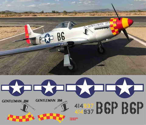 P-51D Gentleman Jim Graphics Set