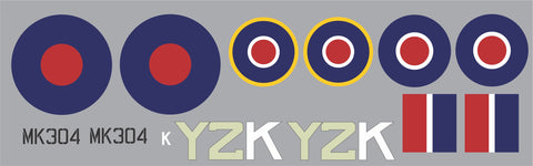 Spitfire Y2K MK304 Graphics Set