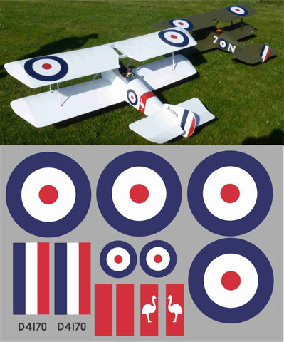 Sopwith Pup D4170 Graphics Set