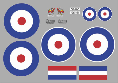 Sopwith Pup #N6465 Rooster