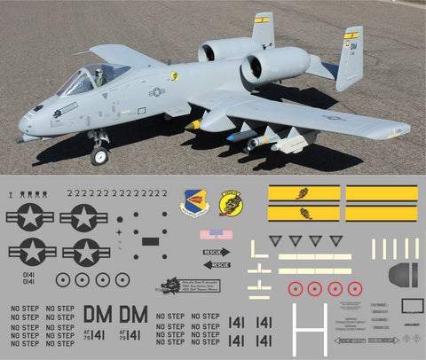 A-10  Davis-Monthan AFB 357th Dragons Graphics Set