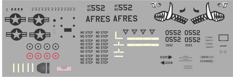 A-10 AFRES Graphics Set