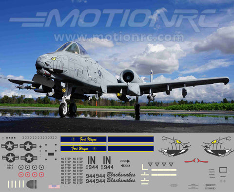 A-10 Blacksnakes Graphics Set
