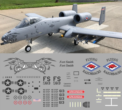 A-10 Flying Razorbacks Graphics Set