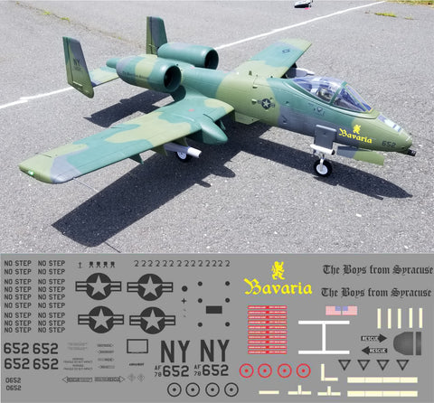 A-10 Boys from Syracuse Bavaria Graphics Set