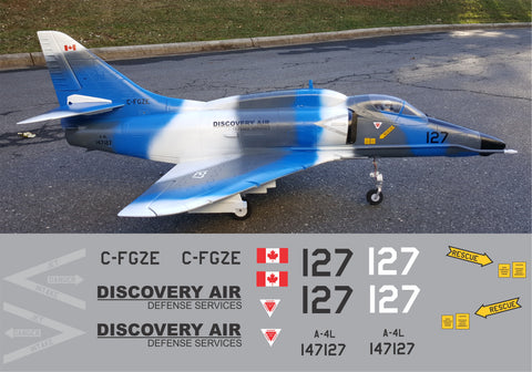 A-4 Skyhawk Discovery Air Graphics Set