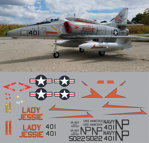 A-4F Skyhawk Lady Jessie Graphics Set