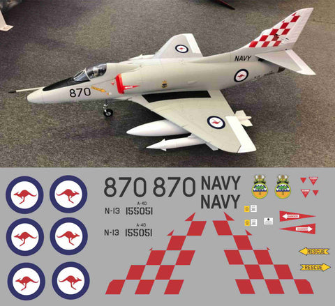 A-4 Skyhawk RAAF #870 Graphics Set