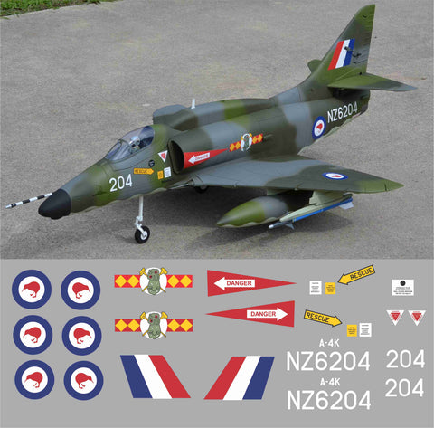 A-4 Skyhawk RNZAF NZ6204 Graphics Set