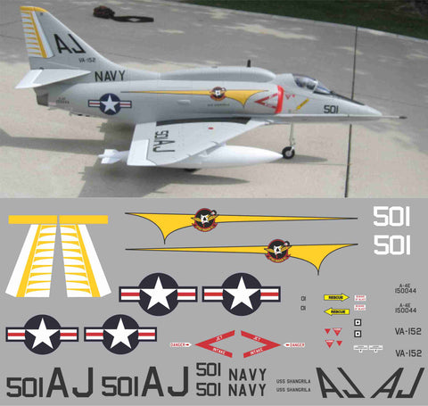 A-4E Skyhawk VA-152 BuNo 150044 Graphics Set