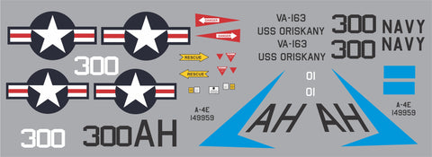 A-4E Skyhawk VA-163 BuNo. 149959 Graphics Set