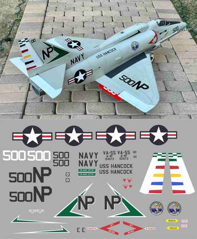 A-4F VA-55 BuNo 154173 Graphics Set