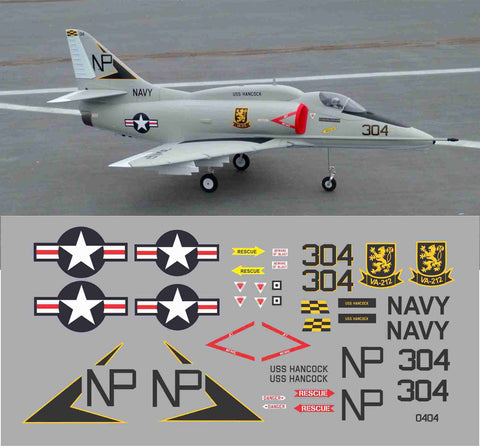 A-4 Rampart Raiders, VA-212 Graphics Set