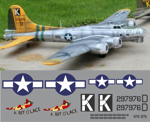B-17 Bit 'O Lace Graphics Set