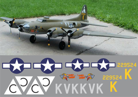 B-17 Meat Hound Graphics Set