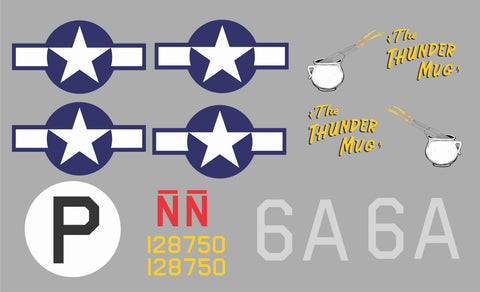 B-24 Thunder Mug Graphics Set