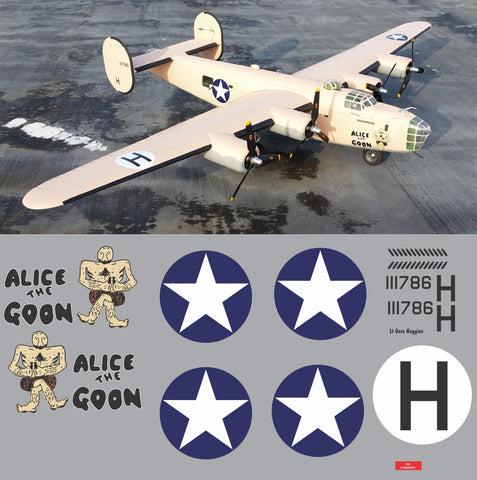 B-24 Alice the Goon Graphics Set