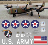 B-24 Diamond Lil CAF Graphics Set