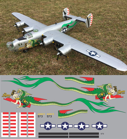 B-24 The Dragon and His Tail Graphics Set