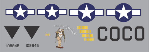 B-24 Merry Boozer Graphics Set
