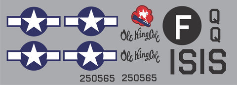 B-24 Ole King Cole Graphics Set