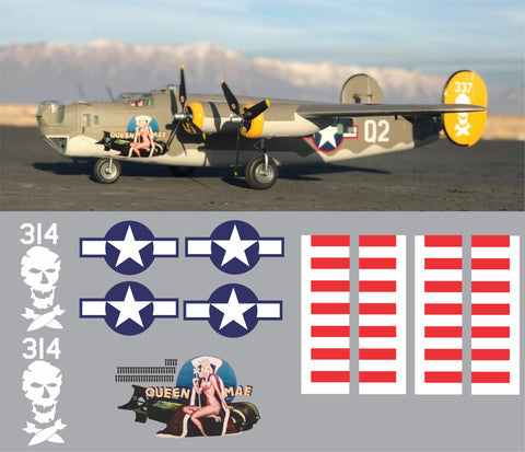 B-24 Queen Mae Graphics Set