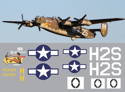 B-24 Sagittarius Graphics Set