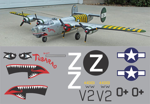B-24 Tubarao Graphics Set