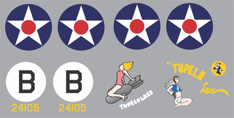 B-24 Tupelo Lass Graphics Set