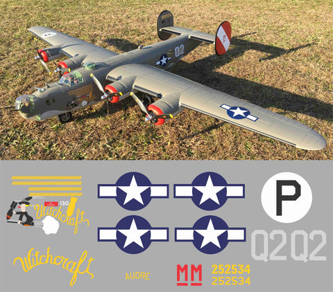 B-24 Witchcraft Graphics Set