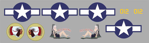 B-25 Lazy Daisy Mae Graphics Set