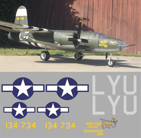 "B-26 ""Bird Dog Special"" Graphics Set"