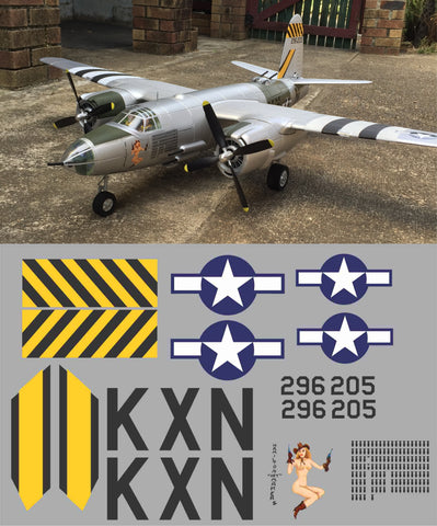 B-26 Hamilton Hey Maker II Graphics Set