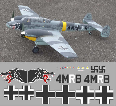 Bf-110 4M+RB Graphics Set