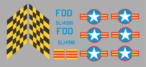 L-19/O-1 South Vietnam #SL14981 Graphics Set