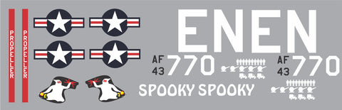C-47 Skytrain Spooky Graphics Set