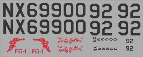 "Corsair ""Lucky Gallon"" Racer Graphics Set"