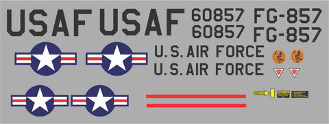 F-104 56th Fighter Squadron #60857 Graphics Set
