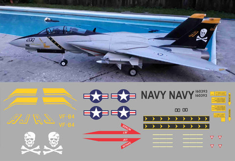 F-14 Tomcat VF-84 Jolly Rogers Graphics Set