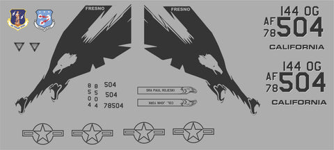F-15 Eagle California Graphics Set