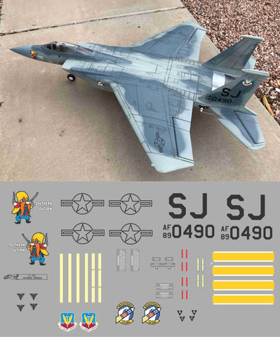 F-15 Southern Outlaw Graphics Set
