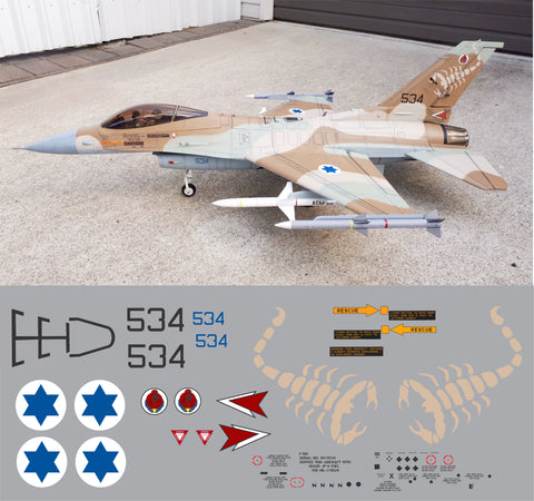 F-16 Israeli #534 Graphics Set