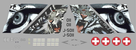F-18 2012 Swiss Tiger Meet Graphics Set