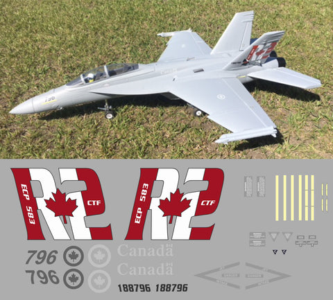 F-18 CAF 188796 Graphics Set