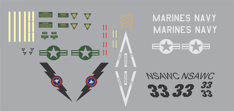 F-18 NSAWC Graphics Set