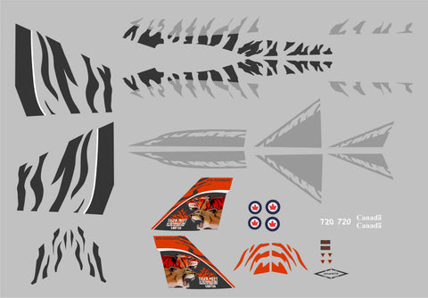 F-18 2003 Tiger Meet Graphics Set